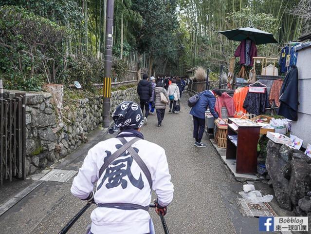 京都嵐山人力車-18