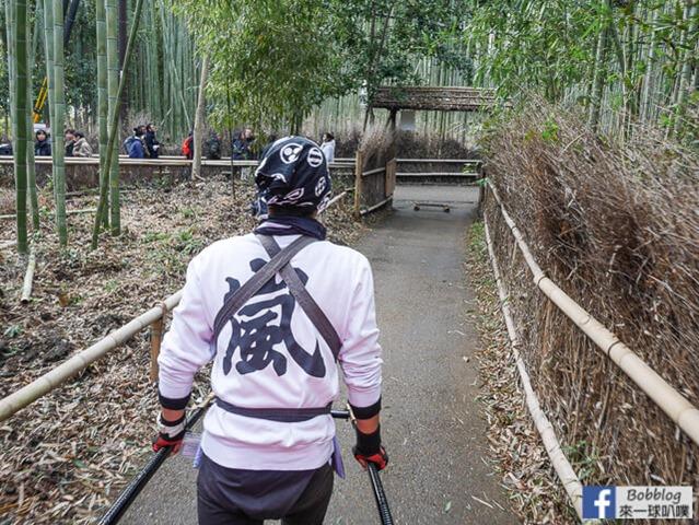 京都嵐山人力車-21