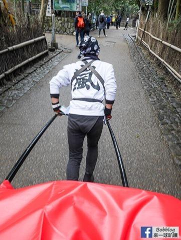 京都嵐山人力車-22