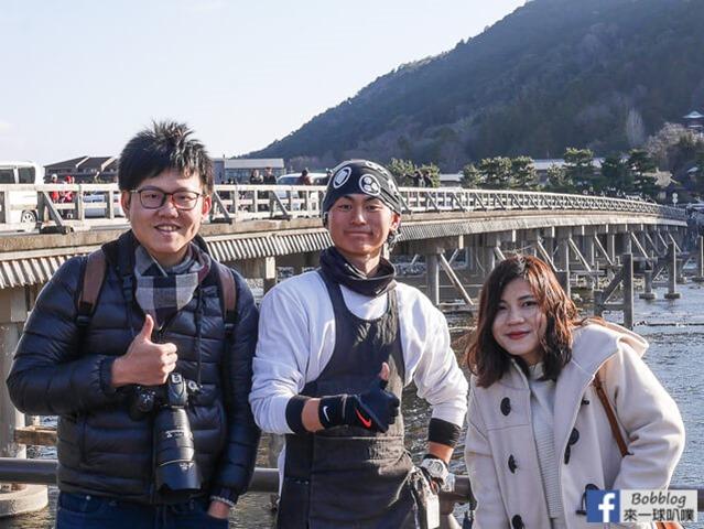 京都嵐山人力車-31