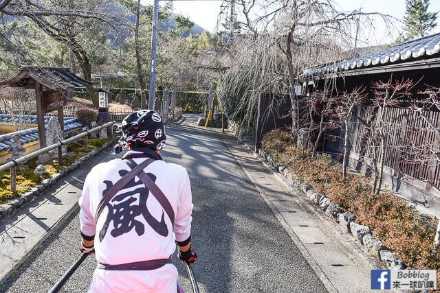 京都嵐山人力車-49