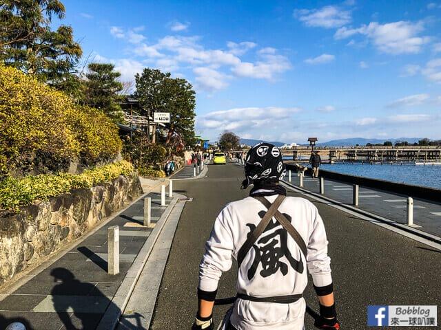 京都嵐山人力車-58