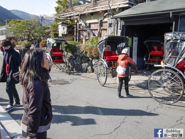 京都嵐山人力車-7