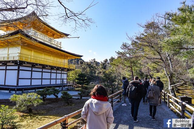 京都金閣寺-雪金閣-29