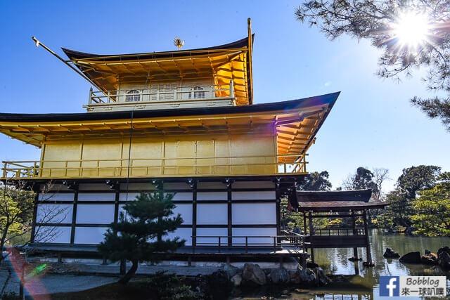 京都金閣寺-雪金閣-30
