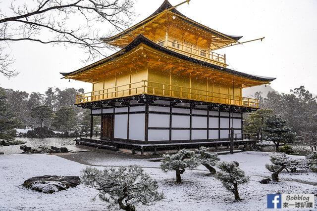 京都金閣寺-雪金閣-73