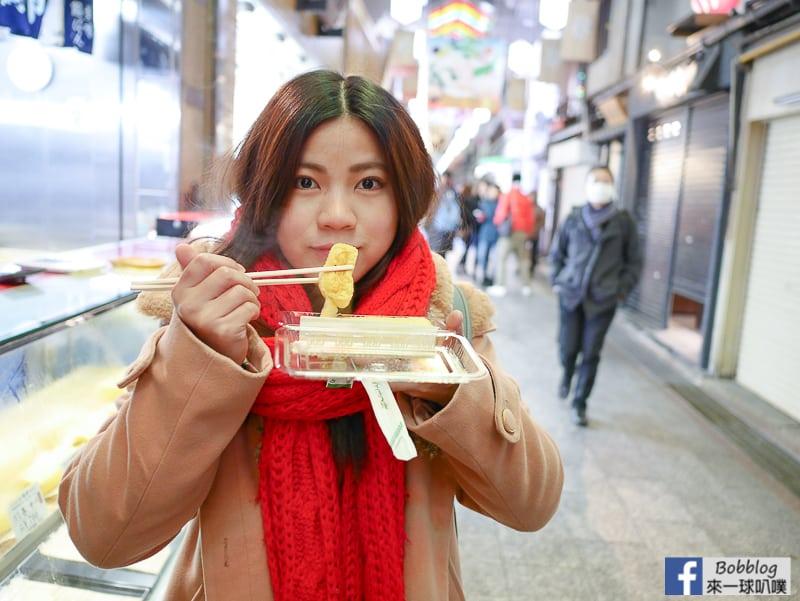 延伸閱讀:京都錦市場|三木雞卵卷(日式玉子燒製作費工)