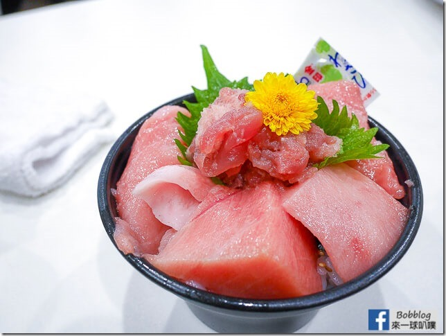 延伸閱讀:[大阪黑門市場美食]まぐろや黒銀(肥美鮪魚壽司海鮮丼)