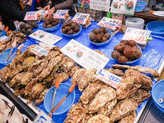 大阪黑門市場西川鮮魚-10