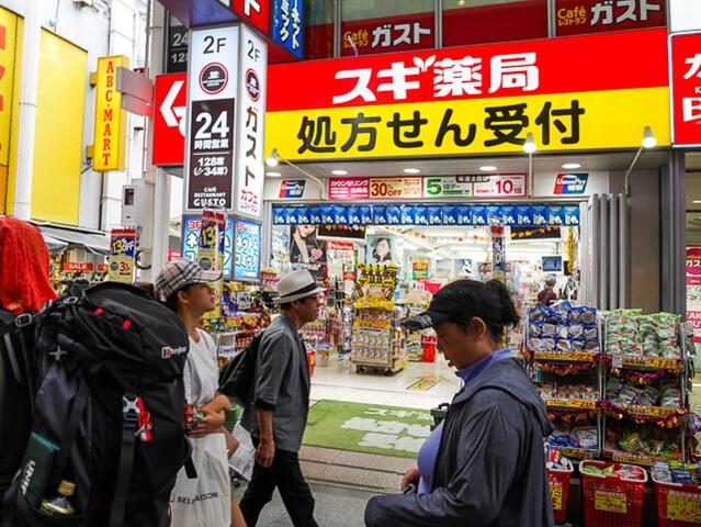 難波戎橋筋商店街-5
