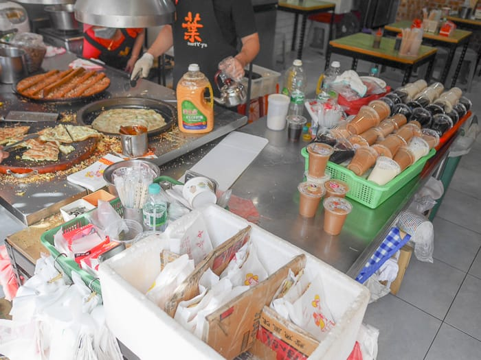 Baoshan Township breakfast 2