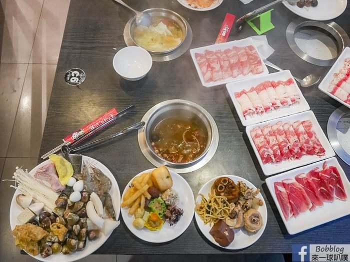 新竹東區火鍋吃到飽|千葉火鍋新竹忠孝店(羊肉豬肉牛肉片、海鮮火鍋食材、熱食甜點冰淇淋任你吃)