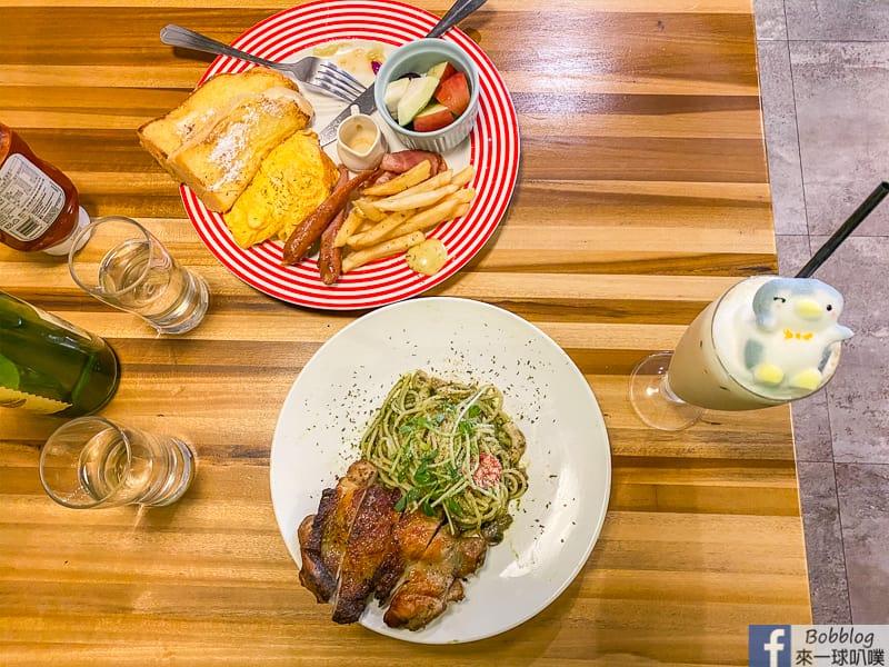 新竹市區早午餐|DayDayGo(可帶寵物,餐點選擇多,動物立體拉花)