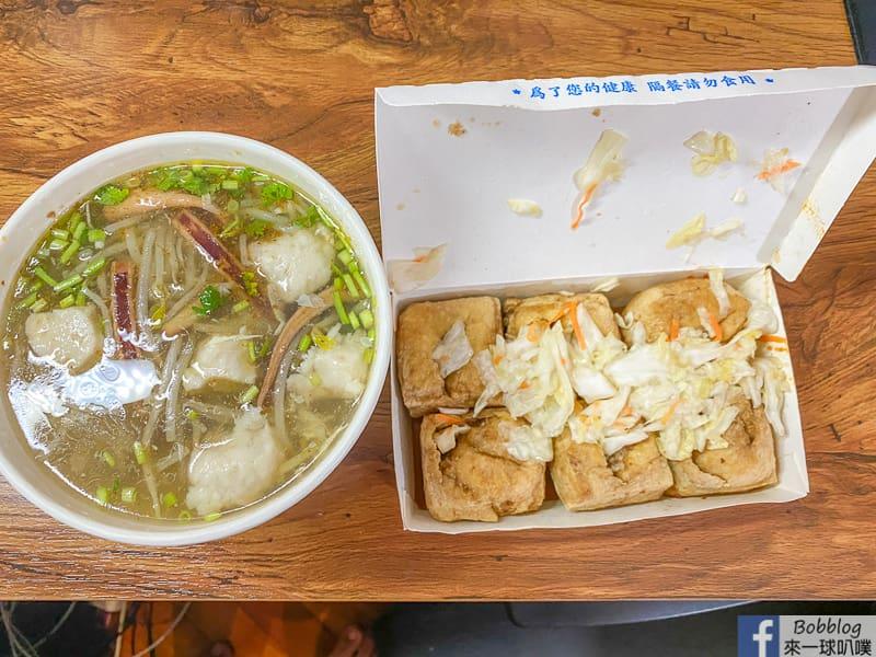 新竹東南街美食|金品魷魚羹臭豆腐鮮魚湯
