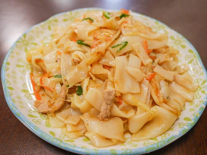 Hsinchu flat noodles 6