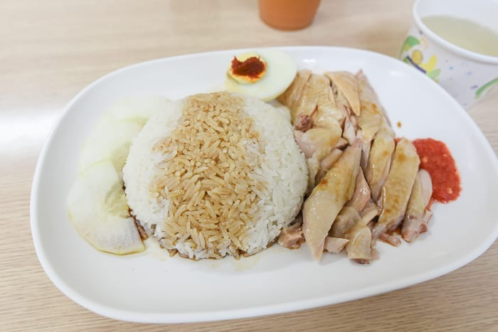 Hsinchu hainan chicken rice 9