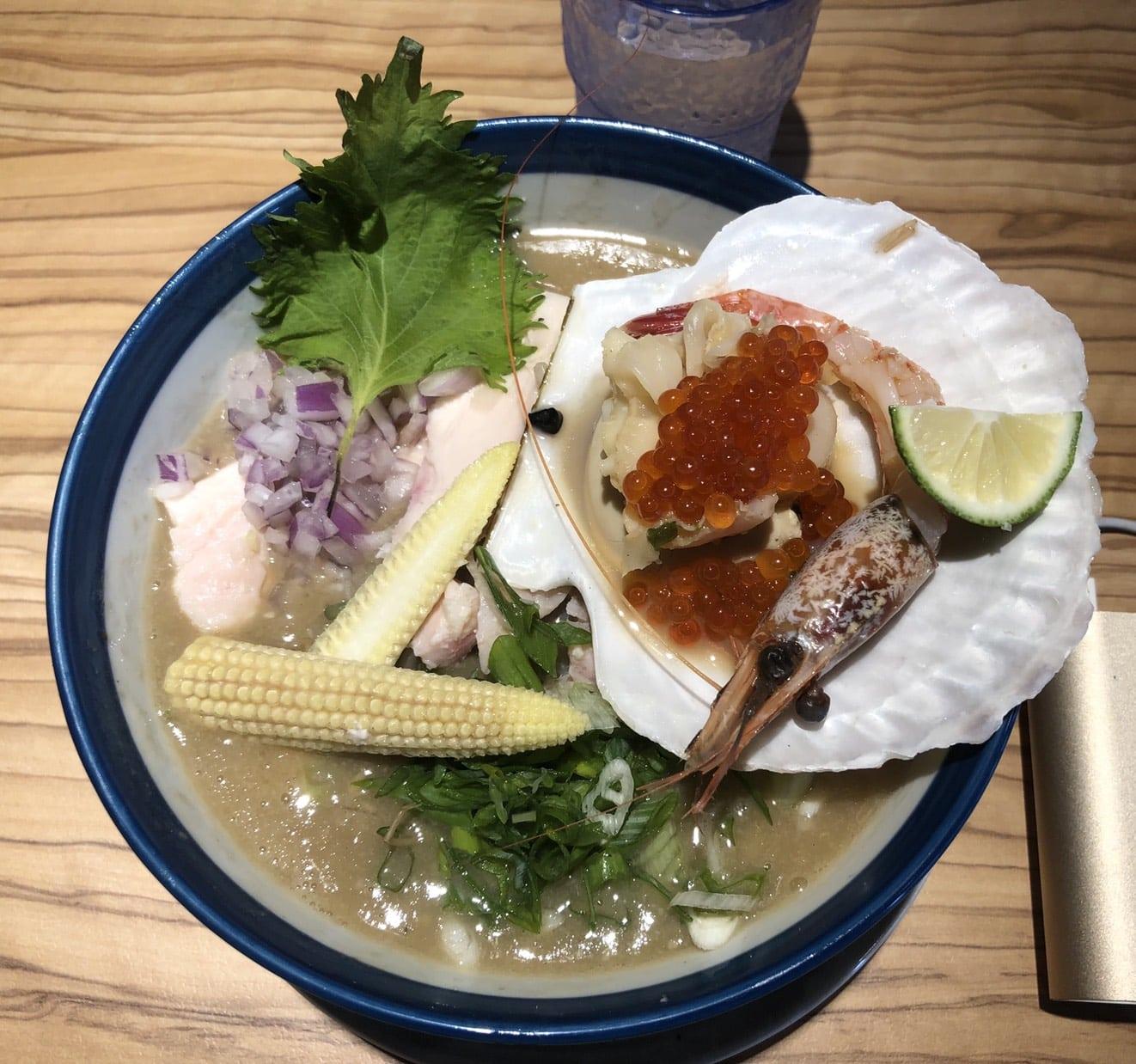 台中市區拉麵|創作麵坊・鮭の大助(海鮮類湯底創意拉麵)