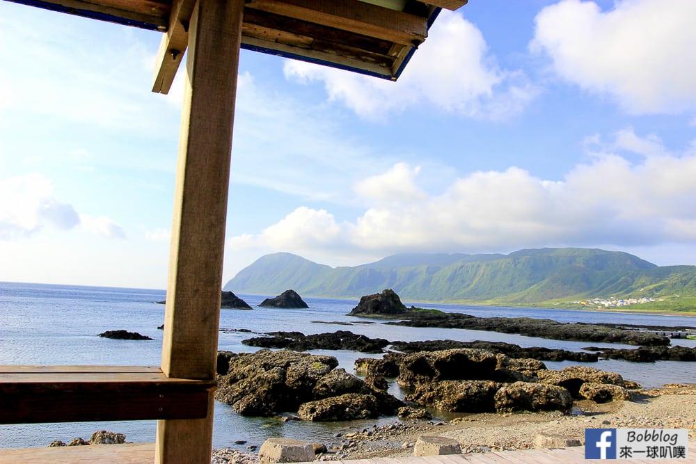 蘭嶼東清灣拼板舟、東清灣超美日出、 美亞美吃早餐