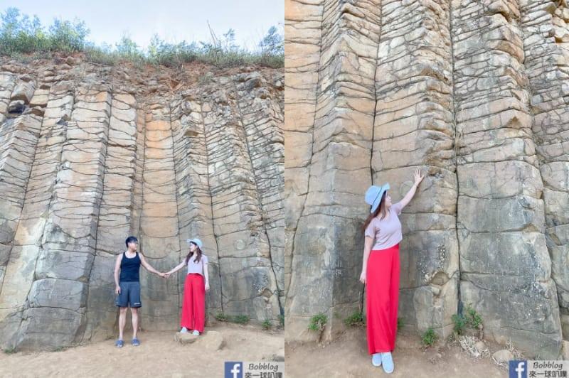 澎湖西嶼池東大菓葉玄武岩(澎湖玄武岩好壯觀、網美照景點)