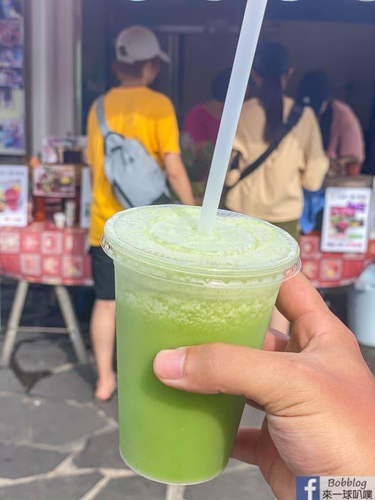 澎湖西嶼鄉二崁聚落美食|二崁一號陳家果汁飲料(好喝冰花,仙人掌特調)
