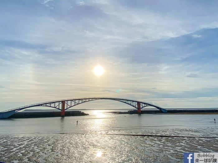 澎湖馬公景點|觀音亭、彩虹大橋(看夕陽,潮間帶生物)