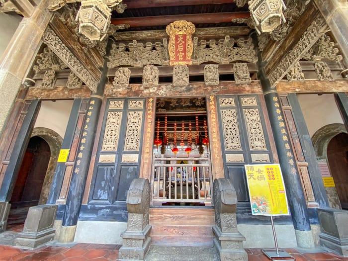 澎湖天后宮(臺灣第一座媽祖廟,一級古蹟400年歷史)