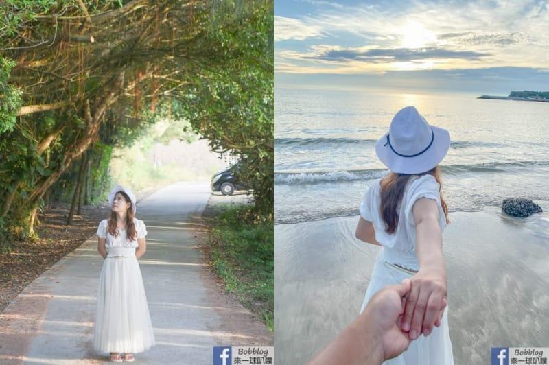 澎湖西嶼秘境沙灘|夢幻沙灘(網垵沙灘)、拍網美照、澎湖看夕陽景點