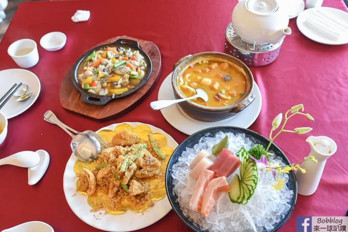 澎湖福朋喜來登酒店|聚味軒海鮮中餐廳(好吃高檔精緻海鮮合菜,價格合理)
