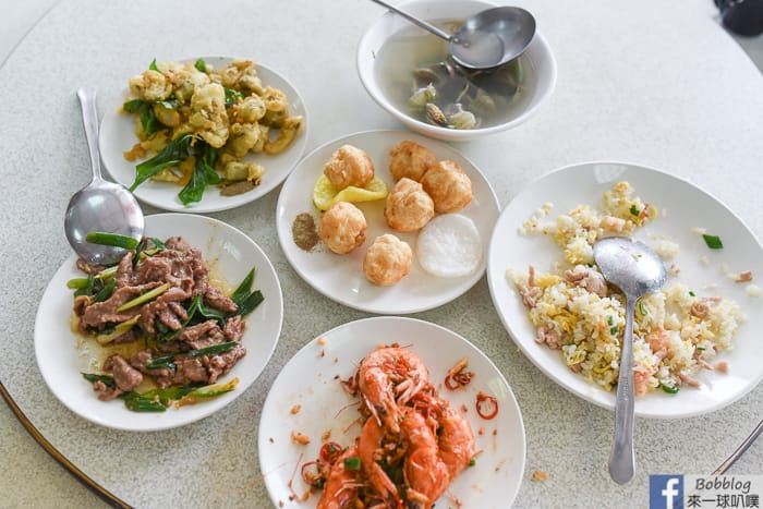 澎湖美食|自強餐廳(平價老字號的海鮮台菜合菜餐廳)