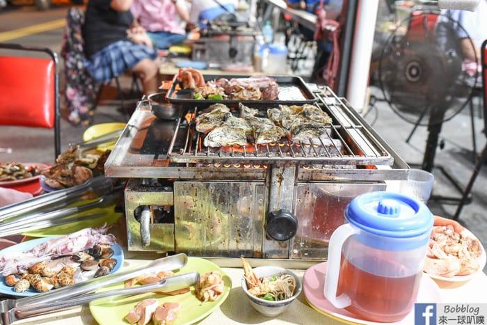 澎湖燒烤吃到飽|一品無煙炭烤(399吃爆海鮮小管牡蠣豬雞肉各式食材)