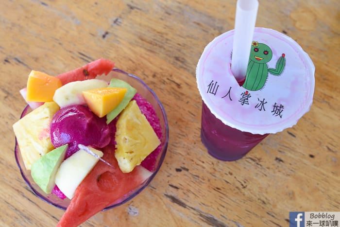 Penghu cactus Ice shop 7