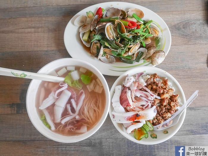 澎湖市區美食|原味漁村小吃(小管麵線、小管滷肉飯、食尚玩家推薦)