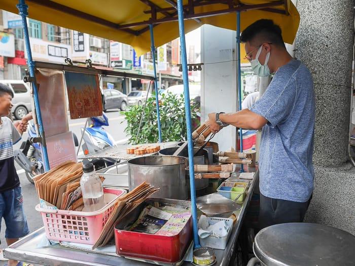 Yanshui Chicken cake14