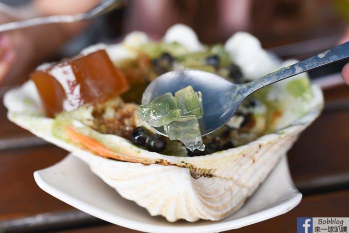 Lyudao brown sugar seaweed shaved ice 11