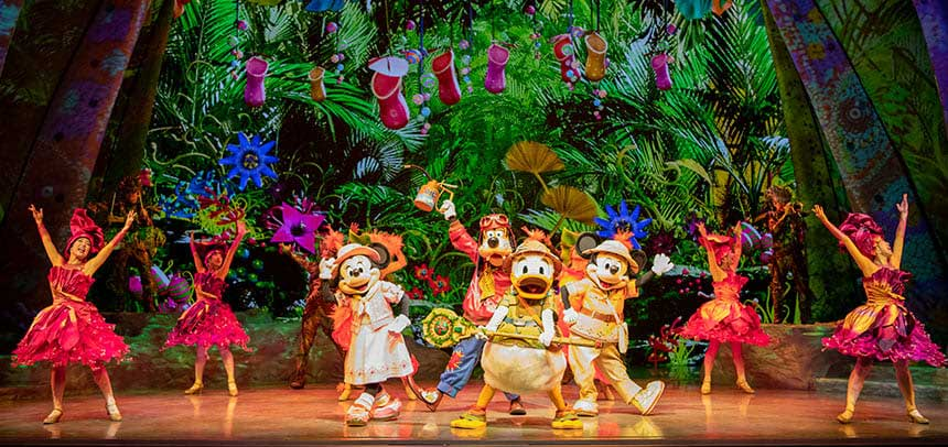 2020東京迪士尼,東京迪士尼海洋表演秀整理(時間表,位置)