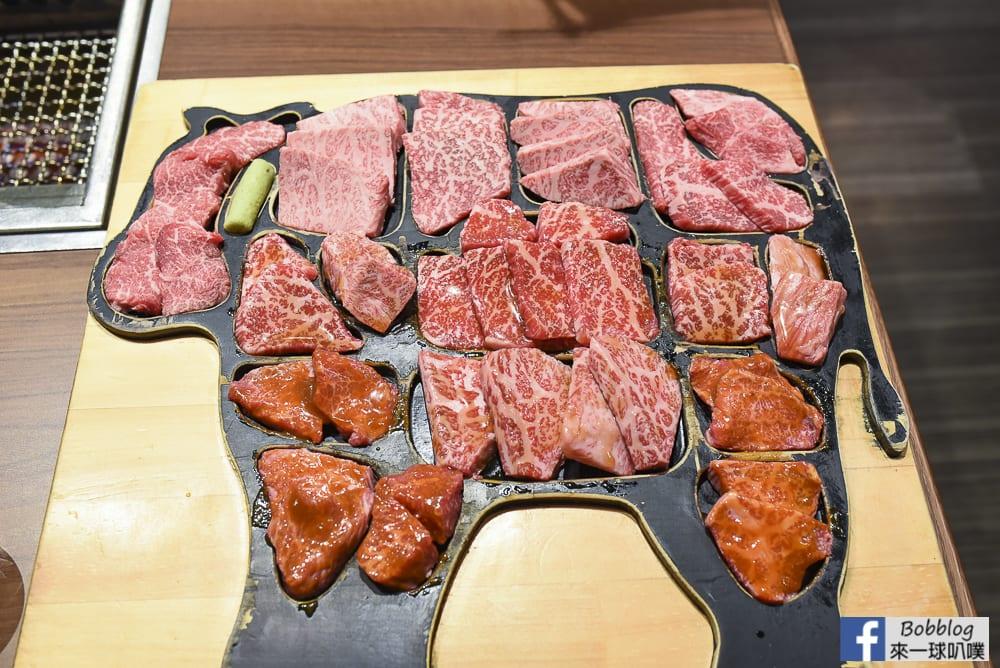 東京銀座美食-俺的燒肉銀座9丁目(超狂一頭牛A5松阪牛燒肉)