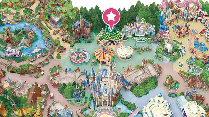 東京迪士尼樂園美食|紅心女王宴會大廳餐廳(愛麗絲夢遊仙境餐廳)
