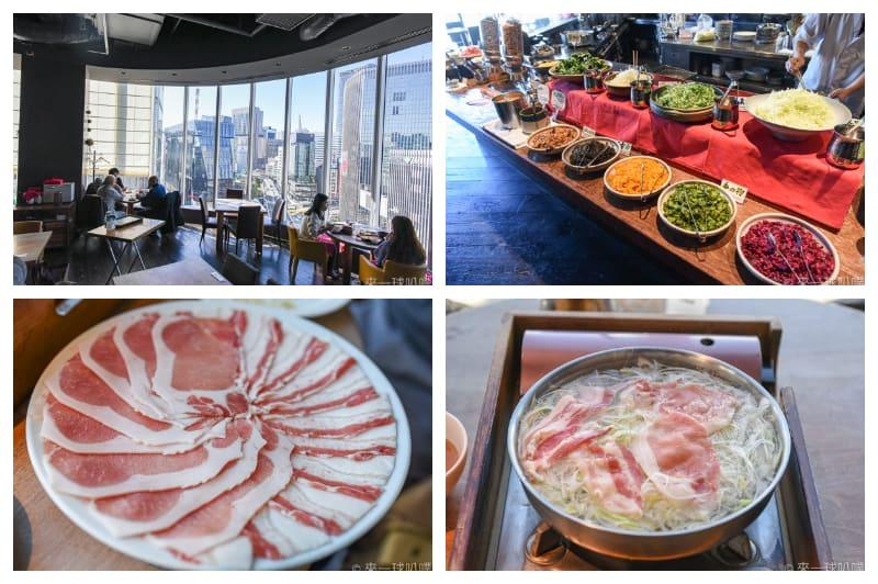 東京銀座美食-羅豚 ギンザ・グラッセ(鹿兒島黑豬肉涮涮鍋吃到飽)