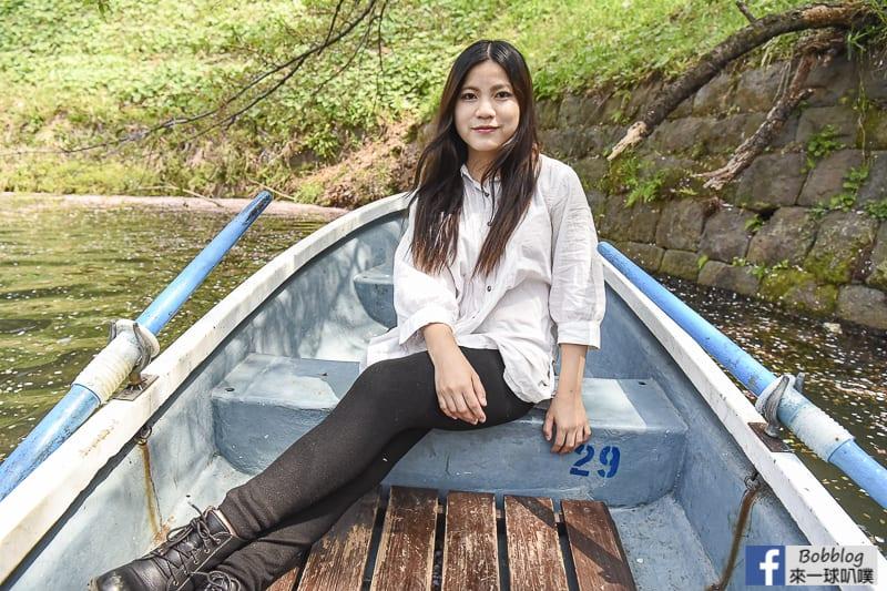 Chidorigafuchi Park boat 19