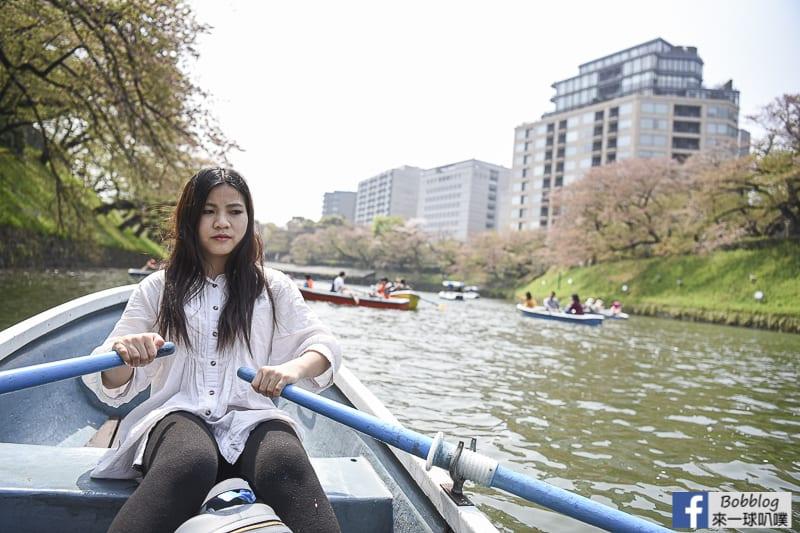 Chidorigafuchi Park boat 22