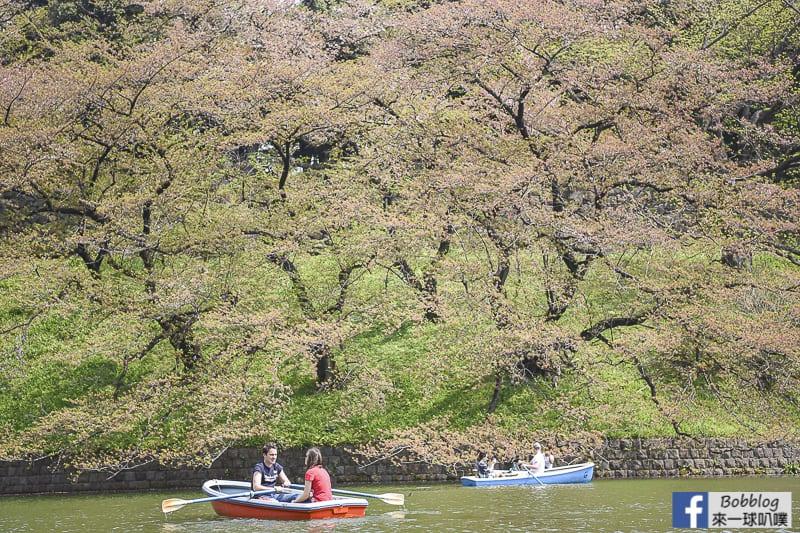 Chidorigafuchi Park boat 26