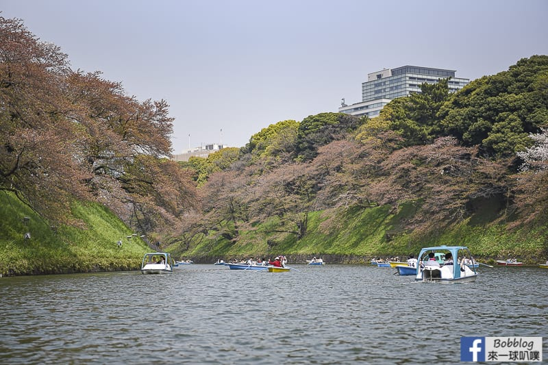 Chidorigafuchi Park boat 27