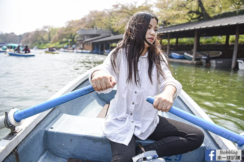 Chidorigafuchi Park boat 28