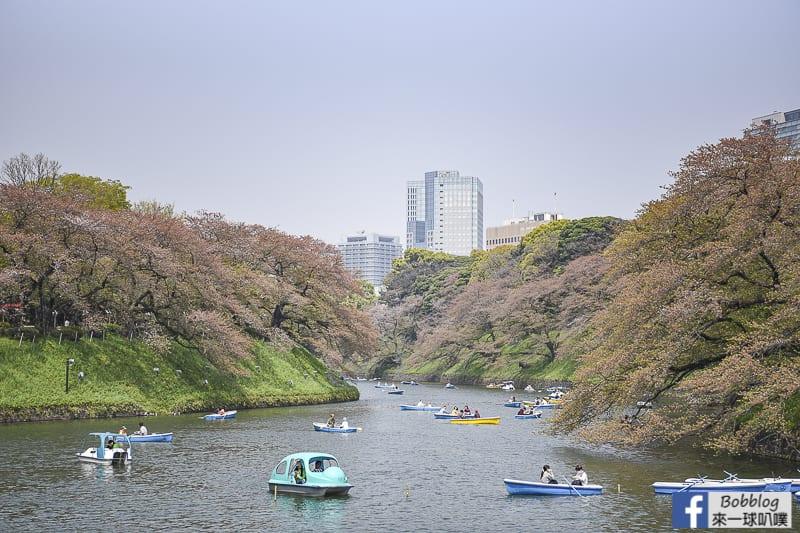 Chidorigafuchi Park boat 29