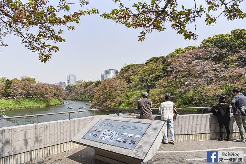 Chidorigafuchi Park boat 9