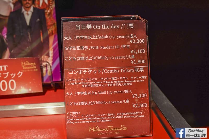 Madame Tussauds Tokyo 7