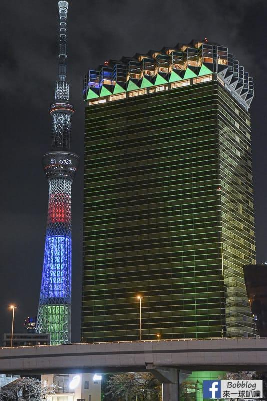 Sumida gawa night sakura 6