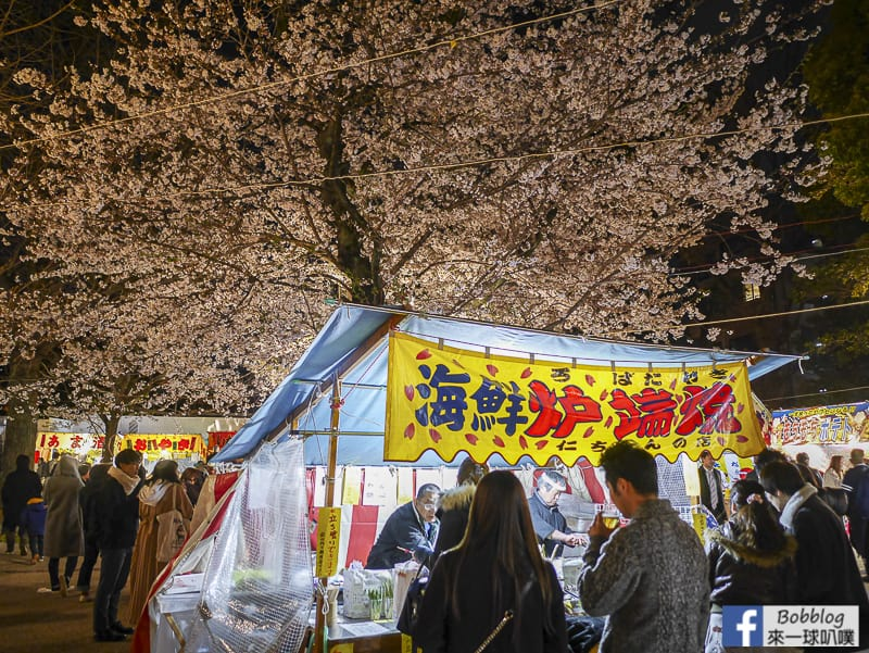 Yasukuni Shrine night sakura 10