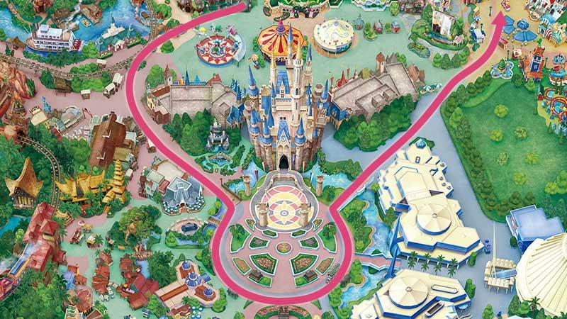 東京迪士尼夜間遊行|東京迪士尼樂園電子大遊行~夢之光