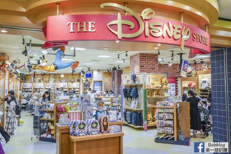 延伸閱讀:東京台場迪士尼商店逛街(AQUA CITY 3樓,迪士尼各式商品,免稅)